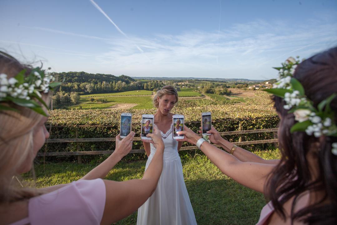Photographe pour mariée à Bordeaux